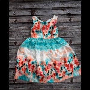 Girls 4T Rare Editions floral dress